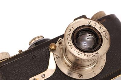 Lot 1001-A Leica Model Ia Elmax Camera