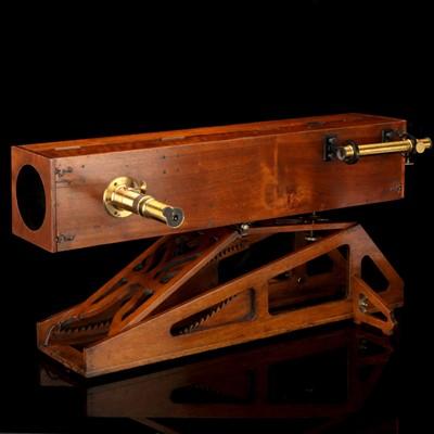 Lot 179-An Important Foucault-Secretan Reflecting Telescope