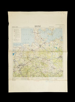 Lot 57 - A Collection of WWII and Later RAF Maps of Europe