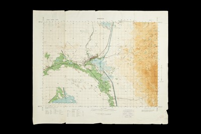 Lot 58 - A Collection of WWII & Later Maps of the Suez Canal