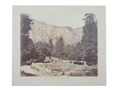 Lot 83 - DR JOHN MURRAY (1809-1898), Churchyard at Nynee Tal
