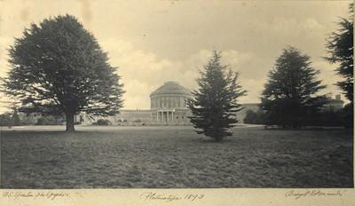 Lot 87 - WILLIAM SILAS SPANTON (1845-1930), Photograph of Ickworth House