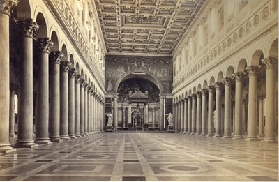 Lot 95 - Four Large 19th Century Photographs of the Vatican