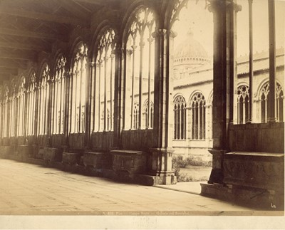 Lot 96 - CARLO NAYA (1816-1882) Four Photographs of Pisa