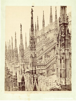 Lot 97 - ICILIO CALZOLARI (1833-1906), GIOCOMO BROGI (1822-1881) Photographs of Milan