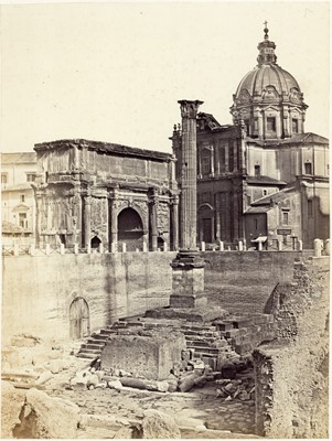 Lot 98 - Five 19th Century Photographs of Rome