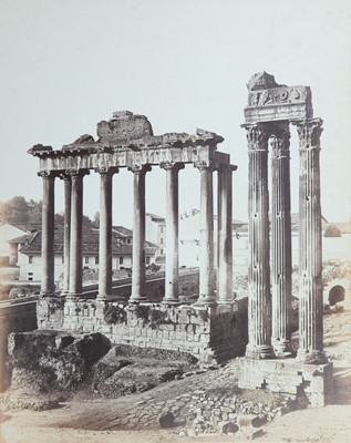 Lot 100 - Two Fine Large 19th Century Photographs of Rome