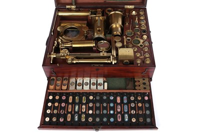Lot 3-An Exceptionally Fine Jones Improved & Solar Microscope Compendium