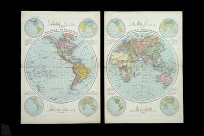 Lot 69 - Bacon, George Washington, 123 Numbered maps c.1880