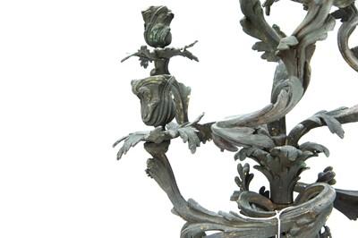 Lot 13 - Flint, Keith Charles, 19th Century Gothic Candelabra