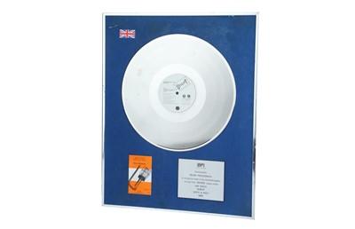 Lot 15 - Silver Disc, Billy Bragg
