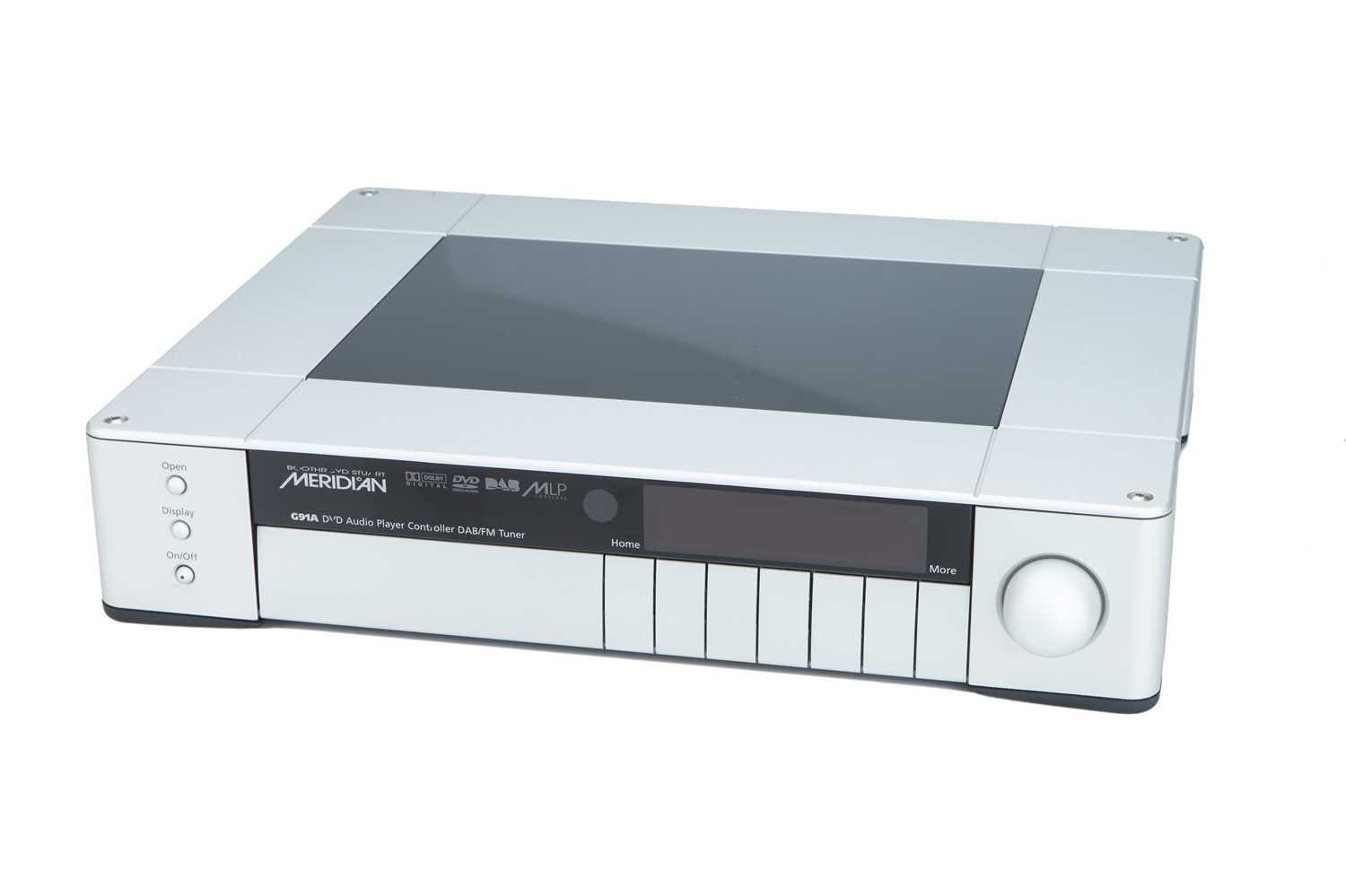 Lot 26 - Meridian G91A DAB, DVD player/controller/tuner, in Silver