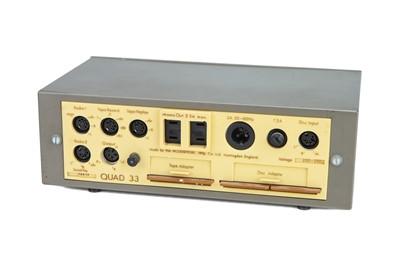 Lot 25 - Quad 33 Pre Amp