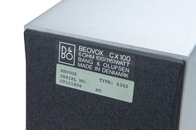 Lot 19 - Bang & Olufsen Beovox, CX100 Speakers