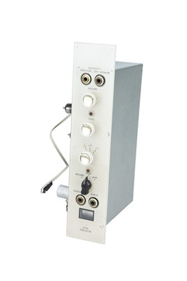 Lot 23 - A Stern's Three Valve Amplifier
