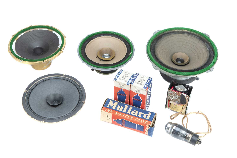 Lot 57 - Speakers, Valves & Spare Parts