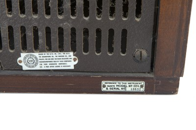 Lot 84 - HMV Radiogram