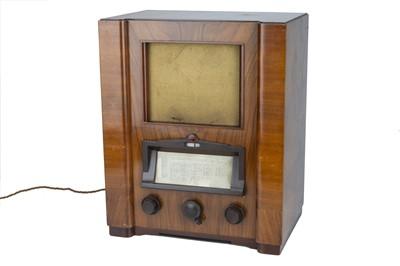 Lot 68 - Large Philips Art Deco Valve Radio