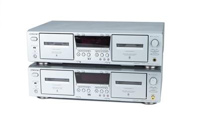 Lot 34 - Pair of Sony Tape Decks, TC-WE475