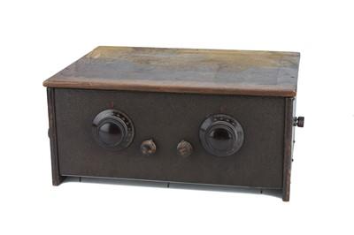 Lot 69 - A 1920s Cossor Empire Melody Maker valve radio, model No. 23S