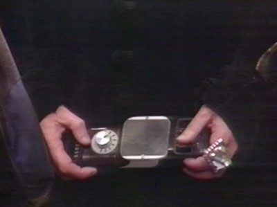 Lot 2 - An Original Doctor Who Prop: A Pair of Jeweled  Rings