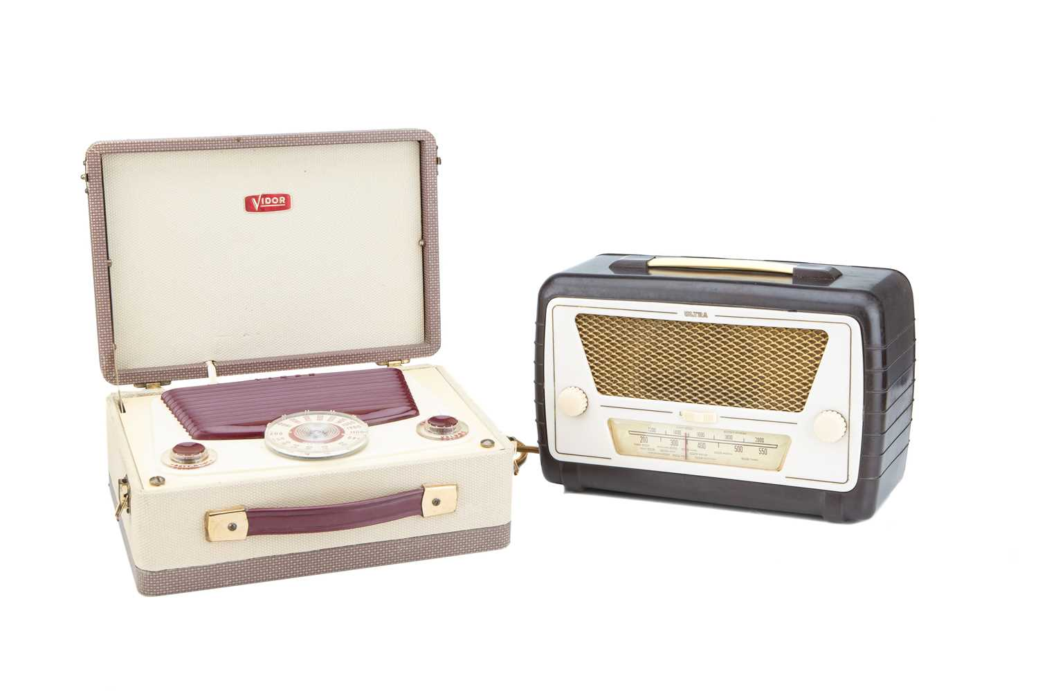 Lot 72 - Two Early Portable Radios