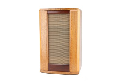 Lot 73 - Two Vintage Speakers in Wooden Cabinets