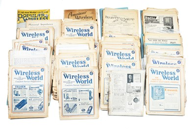 Lot 79 - Large Collection Of Period Wireless Journals