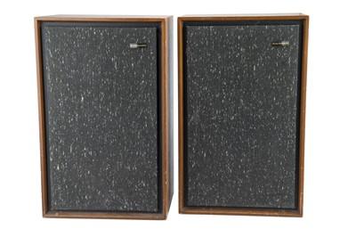 Lot 53 - Two Large Goodmans Magnum-K Speakers