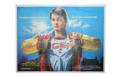 "Lot 14 - Teenwolf, UK Folded QUAD film poster (30 x 40"")"