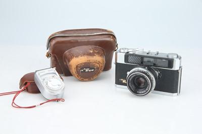 Lot 87 - An Olympus Auto Eye Rangefinder Camera