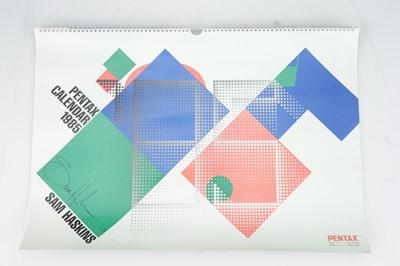 Lot 336 - A Sam Haskins Pentax 1985 Calendar