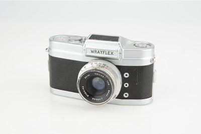 Lot 140 - A Wray Wrayflex I Camera