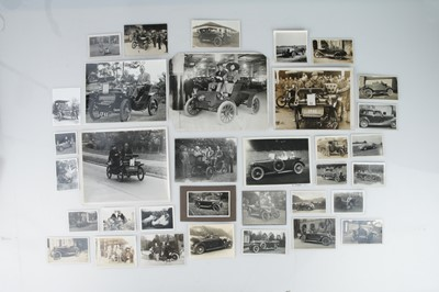 Lot 344 - A Collection of 31 Vintage Photographs of Cars