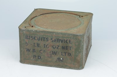 Lot 445 - A W. B. Co. Biscuits: Service Sealed Biscuit Tin