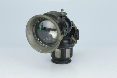 Lot 449 - A Jos Lucas 'King of the Road' Bicycle Lamp